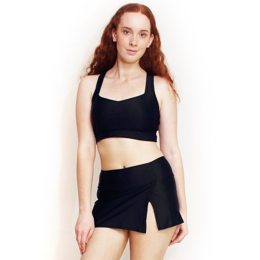 7bc68ed7bb8 High Waist Swim Skirt