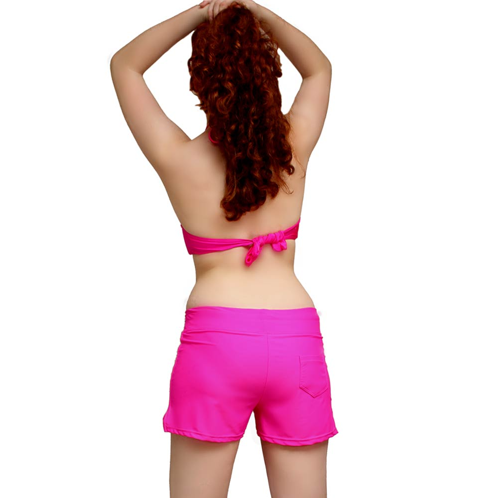 bd7fd31add neon pink board shorts · swim shorts for women